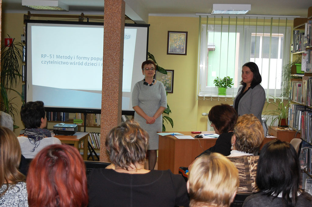 Artykuł: Relacja ze szkolenia w Bibliotece Pedagogicznej w Wyszkowie