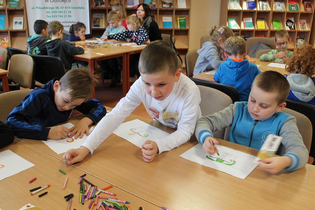 Artykuł: SP z Kunina w bibliotece