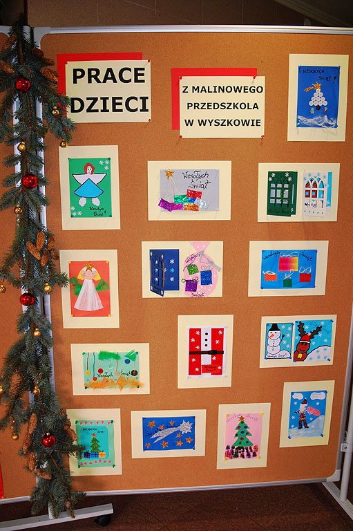 Artykuł: Idą Święta - wystawa w BP Wyszków