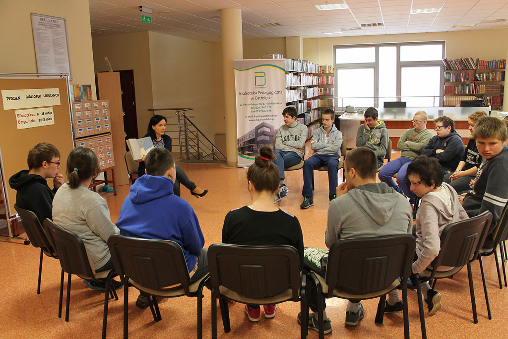 Artykuł: Uczniowie SOSW rozmawiali o dzieleniu się