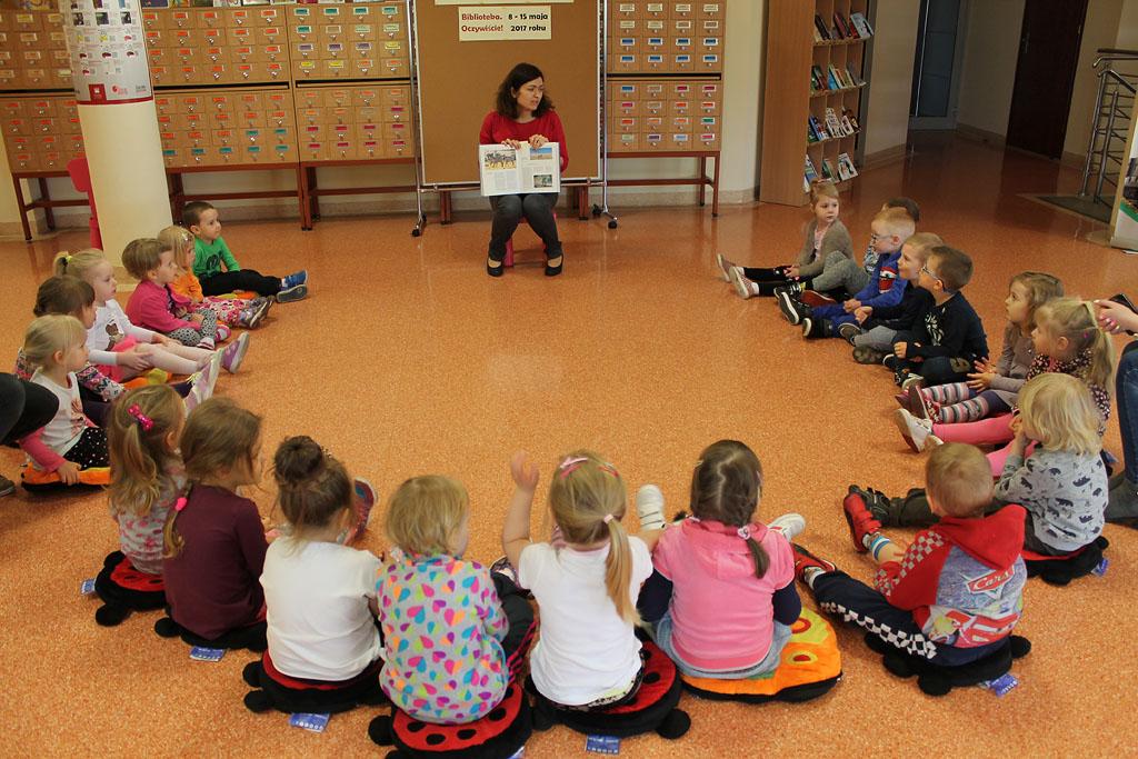Artykuł: Przedszkolaki poznały przygody pewnej zebry