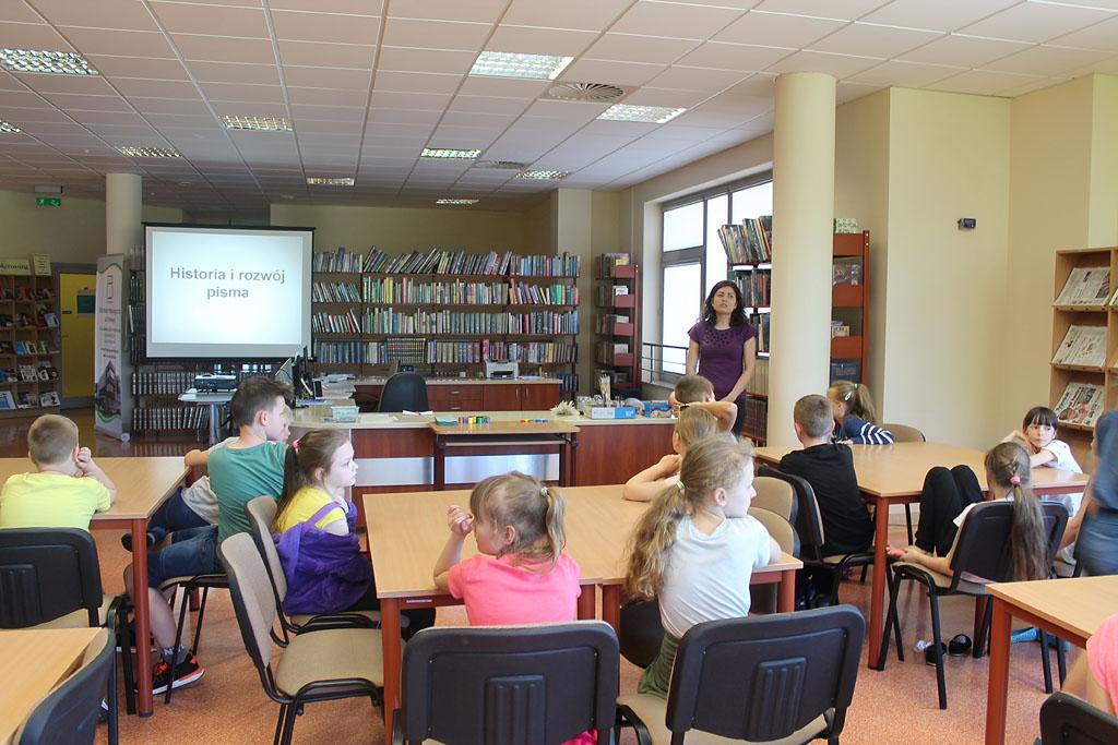 Artykuł: Uczniowie poznali historię pisma