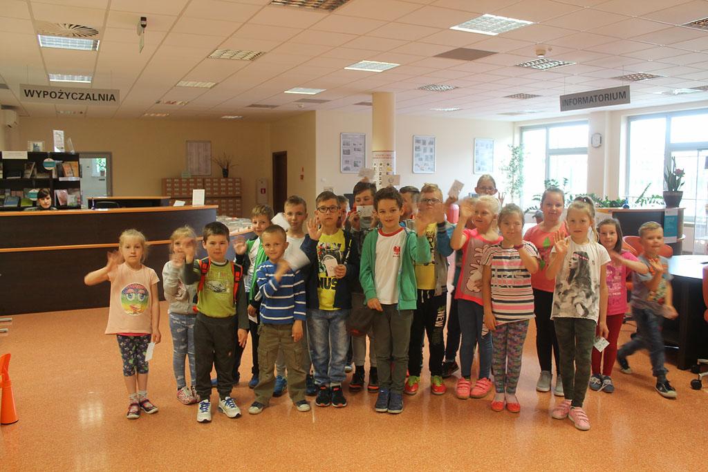 Artykuł: Uczniowie z Łątczyna w Bibliotece Pedagogicznej