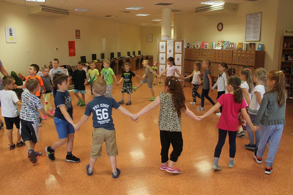 Artykuł: Dzieci z Przedszkola Miejskiego nr 8 w Bibliotece