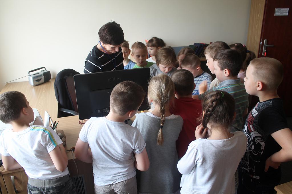 Artykuł: Uczniowie kl. I c zwiedzili bibliotekę