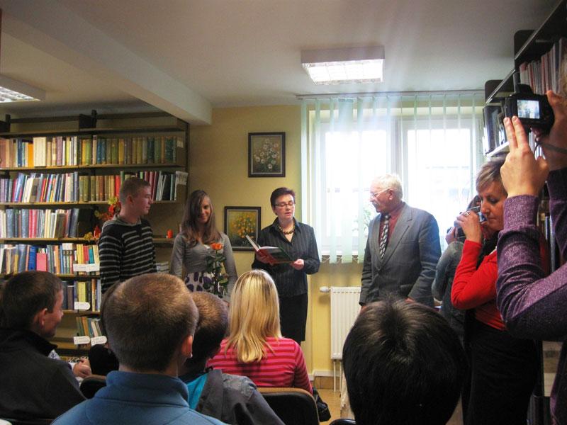 Artykuł: Spotkanie autorskie z poetą Józefem Bułatowiczem - Wyszków 2010