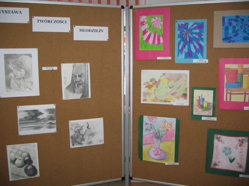 Artykuł: Wystawa twórczości młodzieży